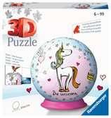 Puzzle-Ball Jednorožec 72 dílků 3D Puzzle;Puzzleball - Ravensburger