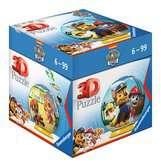 Tlapková Patrol, 54 dílků 3D Puzzle;Puzzleball - Ravensburger