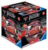 3D rond 54p - Cars 3 Puzzle 3D;Puzzle 3D rond - Ravensburger