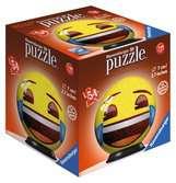 Emoji 3D puzzels;3D Puzzle Ball - Ravensburger