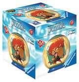 3D rond 54p - Yo-Kai Watch Puzzle 3D;Puzzle 3D rond - Ravensburger
