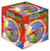 Vánoční 3D Puzzleball, 54 dílků 3D Puzzle;Puzzleball - Ravensburger
