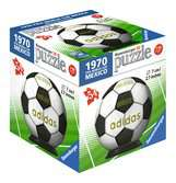 Puzzle 3D rond 54 p - Adidas Coupe du monde de Football 2018 - 13 motifs 3D puzzels;Puzzle 3D Ball - Ravensburger