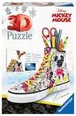 Sneaker Disney Mickey portalapices 3D Puzzle;3D Shaped - Ravensburger
