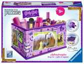 Girly Girl - Paarden opbergdoos 3D puzzels;3D Puzzle Girly Girl - Ravensburger