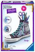 3D Sneaker - Animal Trend 3D puzzels;3D Puzzle Girly Girl - Ravensburger