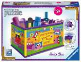 Funky Owls Vanity Box 3D Puzzle®, 216pc 3D Puzzle®;Shaped 3D Puzzle® - Ravensburger
