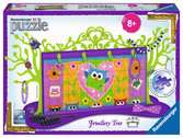 Funky Owls Jewellery Tree 3D Puzzle®, 108pc 3D Puzzle®;Shaped 3D Puzzle® - Ravensburger