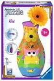 Funky Owls Vase 3D Puzzle®, 216pc 3D Puzzle®;Shaped 3D Puzzle® - Ravensburger