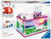 Unicorn Vanity Box 3D Puzzle®, 216pc 3D Puzzle®;Shaped 3D Puzzle® - Ravensburger