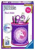 Unicorn Pencil Holder 3D Puzzle®, 54pc 3D Puzzle®;Shaped 3D Puzzle® - Ravensburger