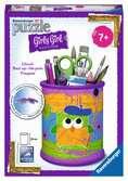 Pennenbak - Funky Owls 3D puzzels;3D Puzzle Specials - Ravensburger