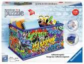 Graffiti Storage Box 3D Puzzle®, 216pc 3D Puzzle®;Shaped 3D Puzzle® - Ravensburger