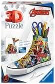 Marvel Comic Book Sneaker 3D Puzzle, 108pc 3D Puzzle®;Character 3D Puzzle® - Ravensburger