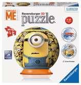 Mimoňové puzzleball 72 dílků 3D Puzzle;Puzzleball - Ravensburger