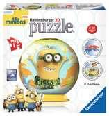 Minions 3D puzzels;3D Puzzle Ball - Ravensburger