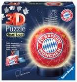 Nachtlicht FC Bayern München 3D Puzzle;3D Puzzle-Ball - Ravensburger