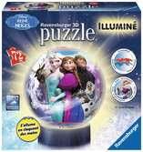 3D rond 72p illuminé - La Reine des Neiges Puzzle 3D;Puzzle 3D rond - Ravensburger