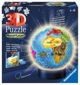 3D rond 72p illuminé - Globe Puzzle 3D;Puzzle 3D rond - Ravensburger