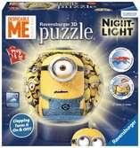 MINIONKI KULISTE 72EL.LAMPKA Puzzle;Puzzle dla dzieci - Ravensburger
