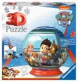 Puzzle 3D rond 72 p - Pat Patrouille Puzzle 3D;Puzzle 3D rond - Ravensburger