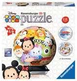Tsum Tsum 3D Puzzle, 72pc 3D Puzzle®;Character 3D Puzzle® - Ravensburger
