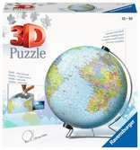 The World on V-Stand 3D Puzzle®, 540pc 3D Puzzle®;Puslespillballer - Ravensburger
