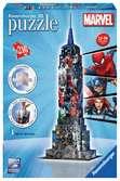 Empire State Building Marvel Avengers 3D puzzels;3D Puzzle Gebouwen - Ravensburger