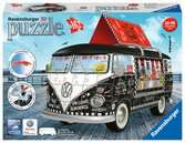 Camper Volkswagen Food Truck 3D Puzzle;3D Shaped - Ravensburger