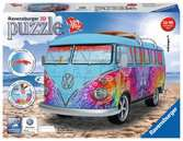 VW Combi T1 Indian Summer 162p Puzzles 3D;Monuments puzzle 3D - Ravensburger