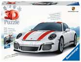 Ravensburger Porsche 911 108 piece 3D Jigsaw Puzzle for Kids age 8 years and up. Ideal Porsche Gifts 3D Puzzle®;Former - Ravensburger