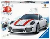 Porsche 911 R 3D Puzzles;3D Storage Puzzles - Ravensburger