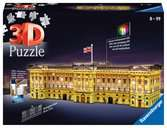 Buckingham Palace Night Edition 3D Puzzle, 216pc 3D Puzzle®;Natudgave - Ravensburger