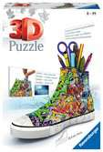 Graffiti Sneaker 3D Puzzle, 108pc 3D Puzzle®;Buildings 3D Puzzle® - Ravensburger