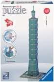 Taipei Tower 3D Puzzle, 216pc 3D Puzzle®;Buildings 3D Puzzle® - Ravensburger