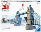 Tower Bridge / Londres Puzzle 3D;Puzzle 3D building - Ravensburger