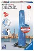 One World Trade Center, 216 dílků 3D Puzzle;Budovy - Ravensburger