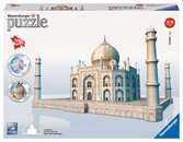 Taj Mahal 3D puzzels;3D Puzzle Gebouwen - Ravensburger