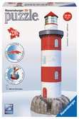 Coastal Lighthouse 3D Puzzles;3D Puzzle Buildings - Ravensburger
