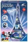 Mickey & Minnie Eiffel Tower 216 dílků 3D Puzzle;Budovy - Ravensburger