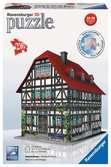 Vakwerkhuis 3D puzzels;3D Puzzle Gebouwen - Ravensburger