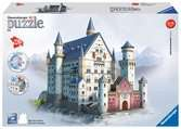 Slot Neuschwanstein 3D puzzels;3D Puzzle Gebouwen - Ravensburger