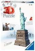 Puzzle 3D Statue de la Liberté Puzzle 3D;Puzzles 3D Objets iconiques - Ravensburger
