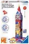 Minions Big Ben 3D Puzzle, 216pc 3D Puzzle®;Character 3D Puzzle® - Ravensburger