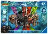 De drakenrijders van Berk Puzzels;Puzzels voor kinderen - Ravensburger