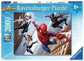 Puzzle 200 p XXL - Les pouvoirs de l araignée / Spider-man Puzzle;Puzzles enfants - Ravensburger