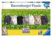 La parade des lapins (Panorama) Puzzle;Puzzle enfant - Ravensburger