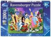 Puzzle 200 p XXL - Les grands personnages Disney Puzzle;Puzzles enfants - Ravensburger