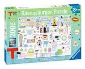 La Triennale Milano Design Puzzle 200 pezzi Puzzle;Puzzle per Bambini - Ravensburger