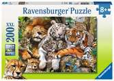 Ravensburger Big Cat Nap XXL 200pc Jigsaw Puzzle Puzzles;Children s Puzzles - Ravensburger